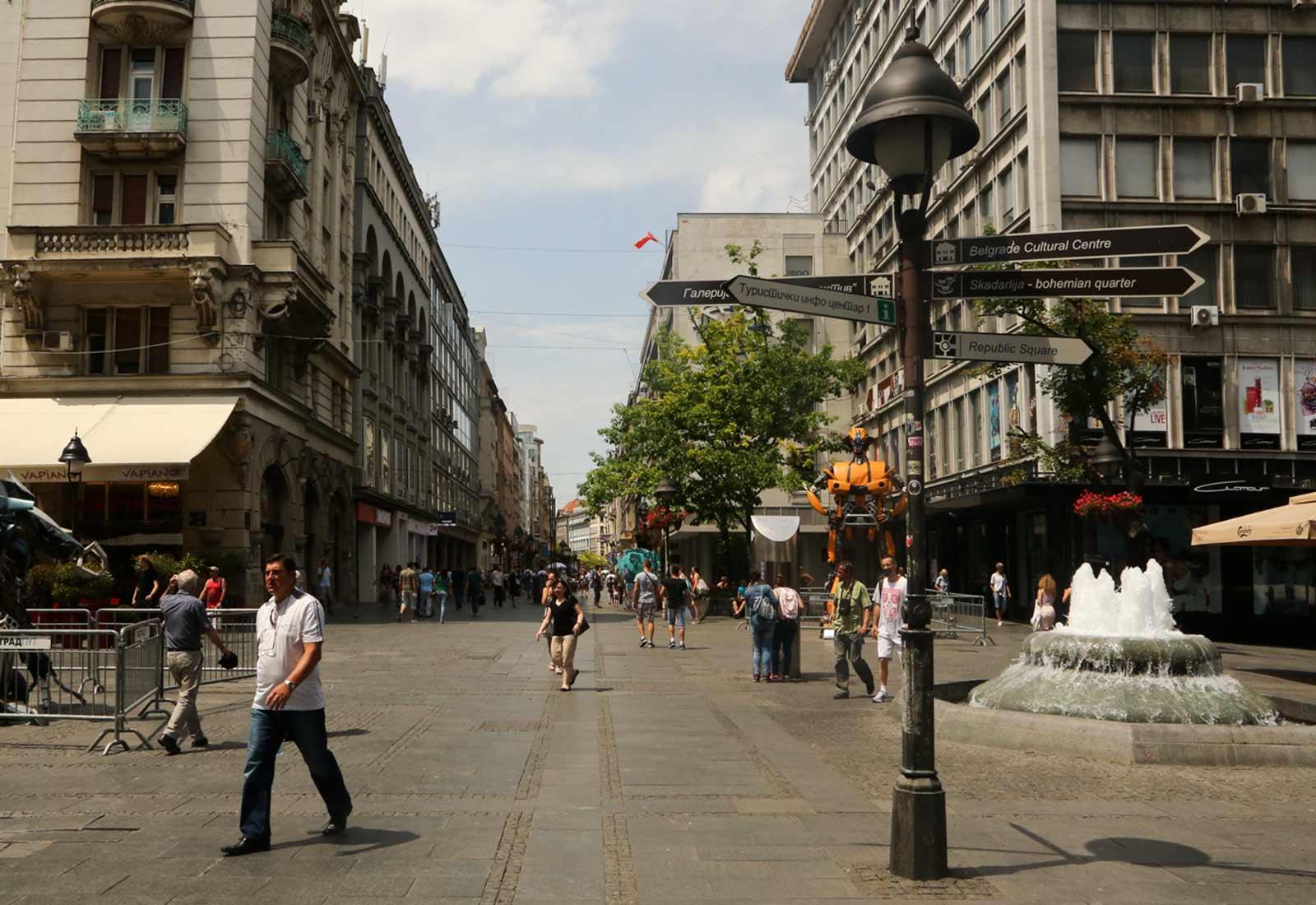 Central Belgrade