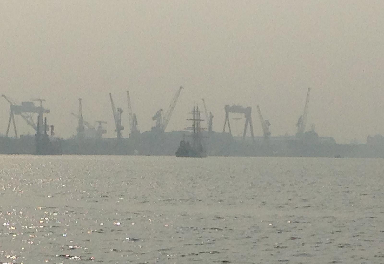 Tallship-Kochi-Harbour