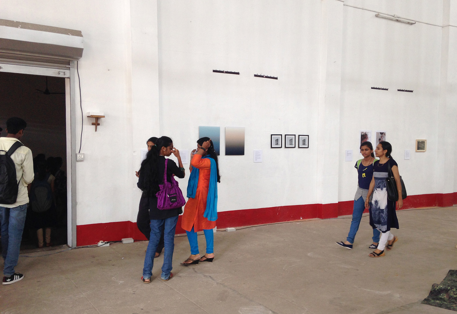 visitors from Thrissur College of Fine Arts